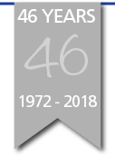 40 Year Ribbon